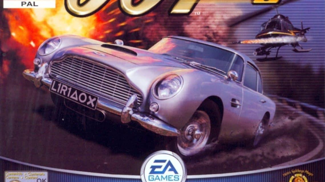 007 Racing PSX-Review/Marca registrada Bond!