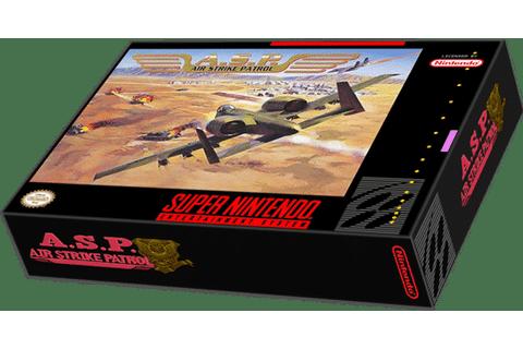 Air Strike Patrol- A.S.P/Super Nintendo Review!