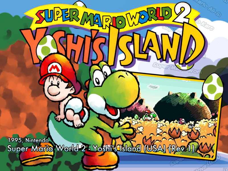 Super Mario World 2: Yoshi's Island 2 SNES-Review