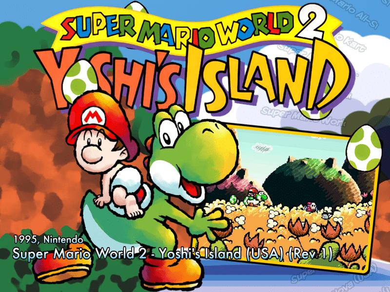 Super Mario World 2: Yoshi's Island 2 SNES-Review