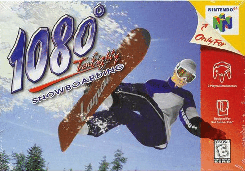 1080 Snowboard N64-Review