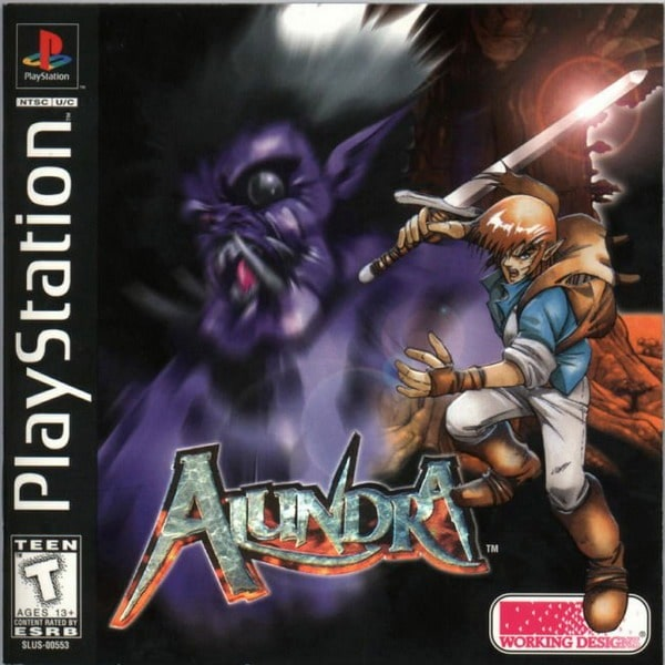 Alundra 1 PSX-The Adventures of Alundra/Baixar ROM