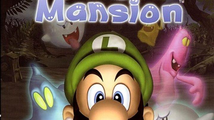 LUIGI'S MANSION Game Cube-Review
