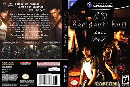 Resident Evil Zero – GameCube