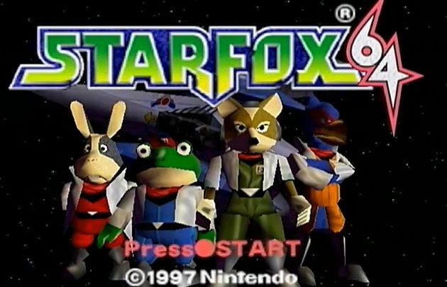 StarFox Nintendo 64-Review