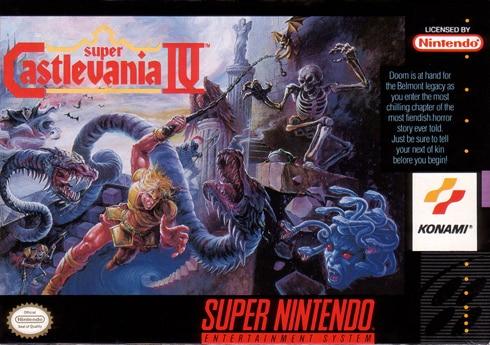 Super Castlevania IV Konami/91 Super Nintendo