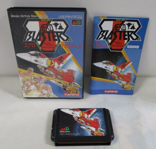 Air Buster(Aero Blaster) Sega Mega Drive-Review