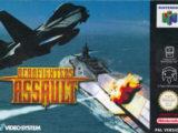 Aero Fighters Assault é um jogo de batalha aérea produzido para o Nintendo 64
