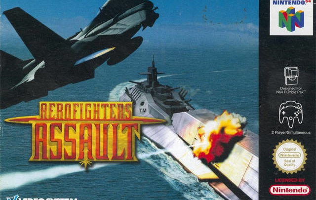 Aero Fighters Assault Nintendo 64-Review
