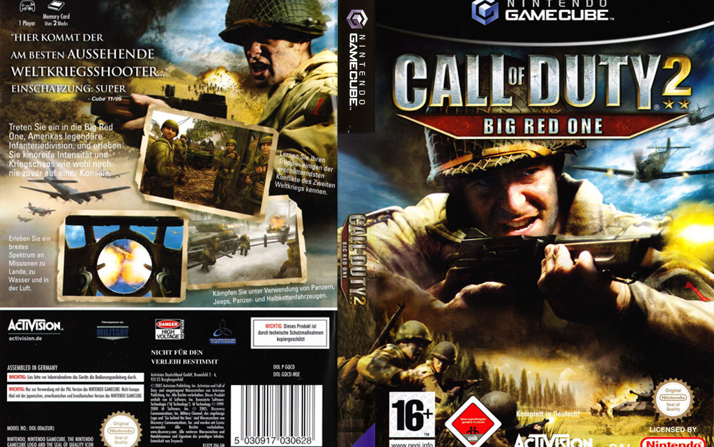 Call of Duty 2 BIG RED ONE Gamecube/ISO-ROM-Wiki
