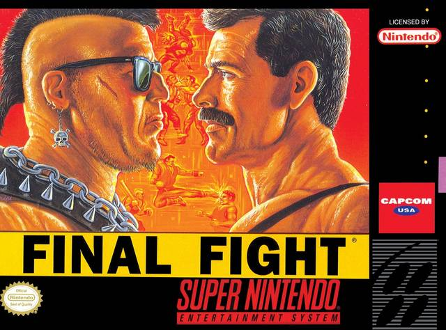 Final Fight Capcom Super Nintendo/Review!