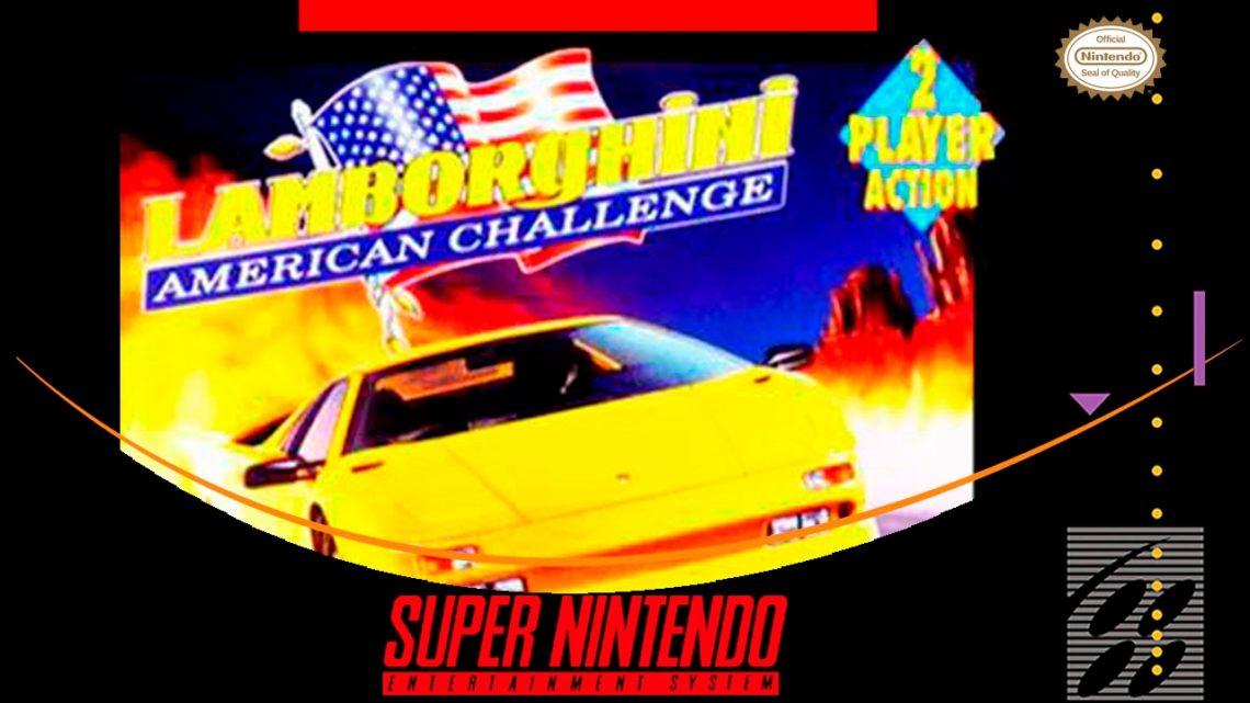 Lamborghini American Challenge SNES/Review
