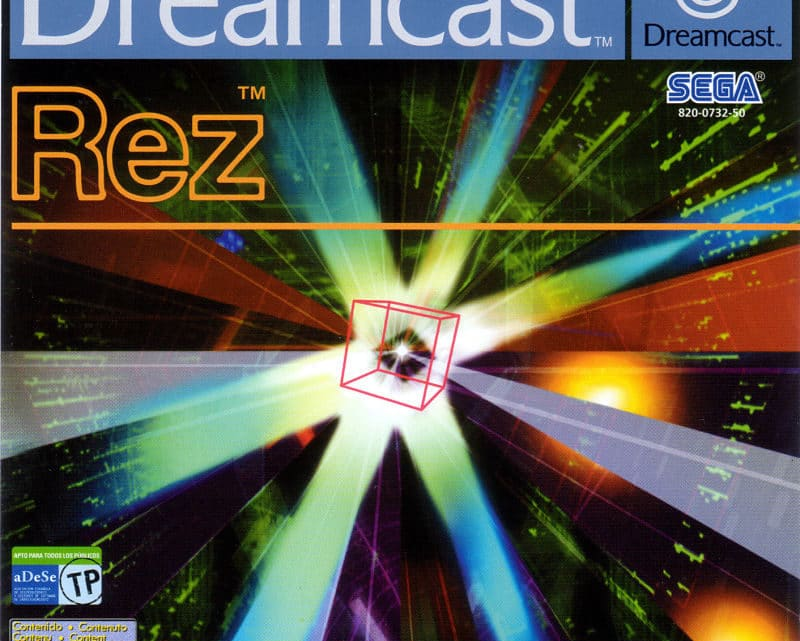 Rez Dreamcast (Rom e GamePlay)
