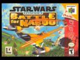 Star Wars: Episódio I: Battle for Naboo é um jogo de acção co-desenvolvido pela Factor 5 e pela LucasArts. É uma sequela espiritual para o sucesso de Star Wars: Rogue Squadron lançado dois anos antes.