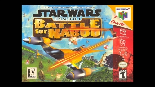 Star Wars Battle For Naboo-Nintendo 64