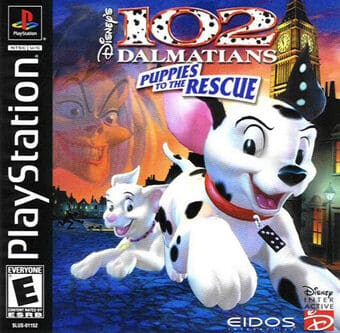 102 Dalmatians: Puppies to the Rescue-Playstation/Dreamcast