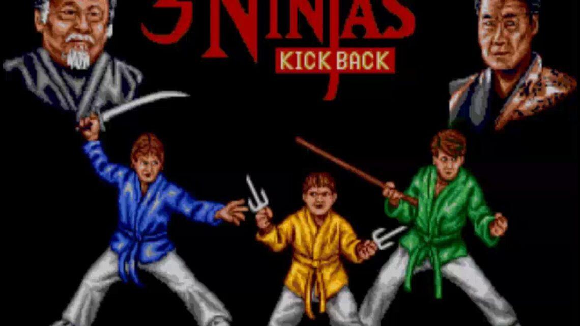 3 Ninjas Kick Back Sega MegaDrive/