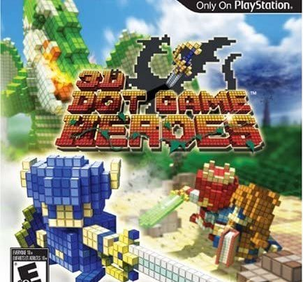 3D Dot Game Heroes Playstation 3/ Download ISO