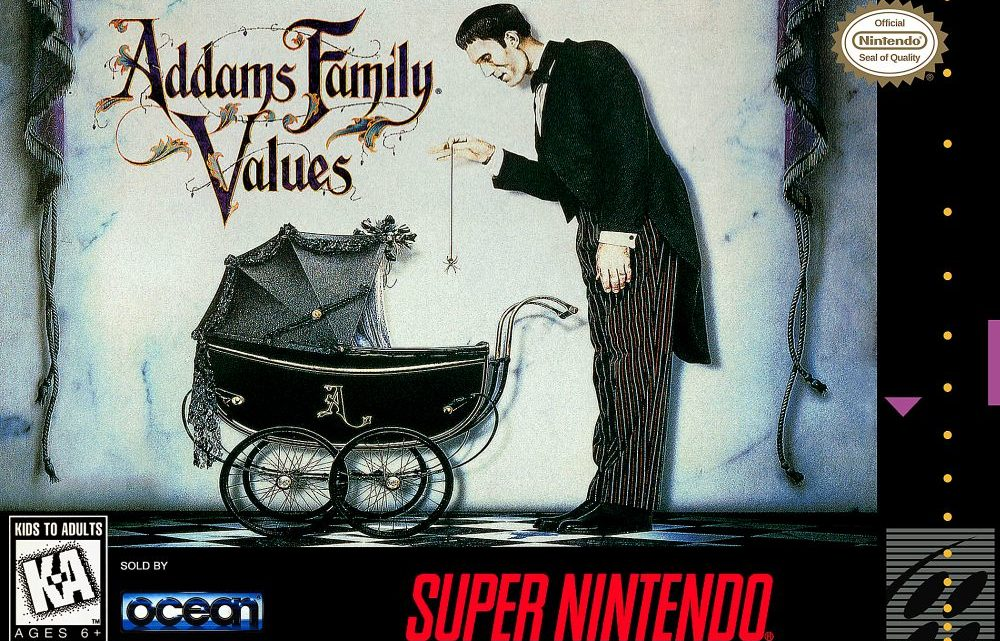 Addams Family Values Review (SNES/ Sega Genesis)
