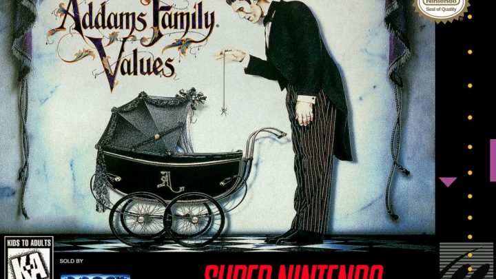 Addams Family Values Review (SNES/ Sega Genesis)