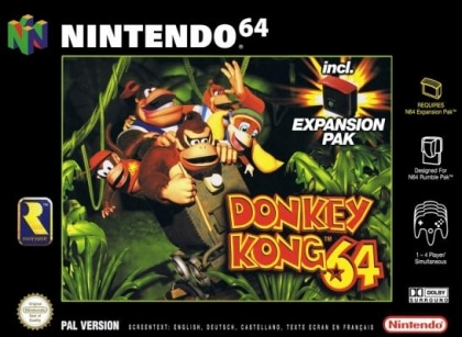 Donkey Kong 64 – Review/Nintendo 64