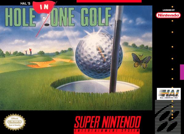 Hole in One Golf Hal America Super Nintendo