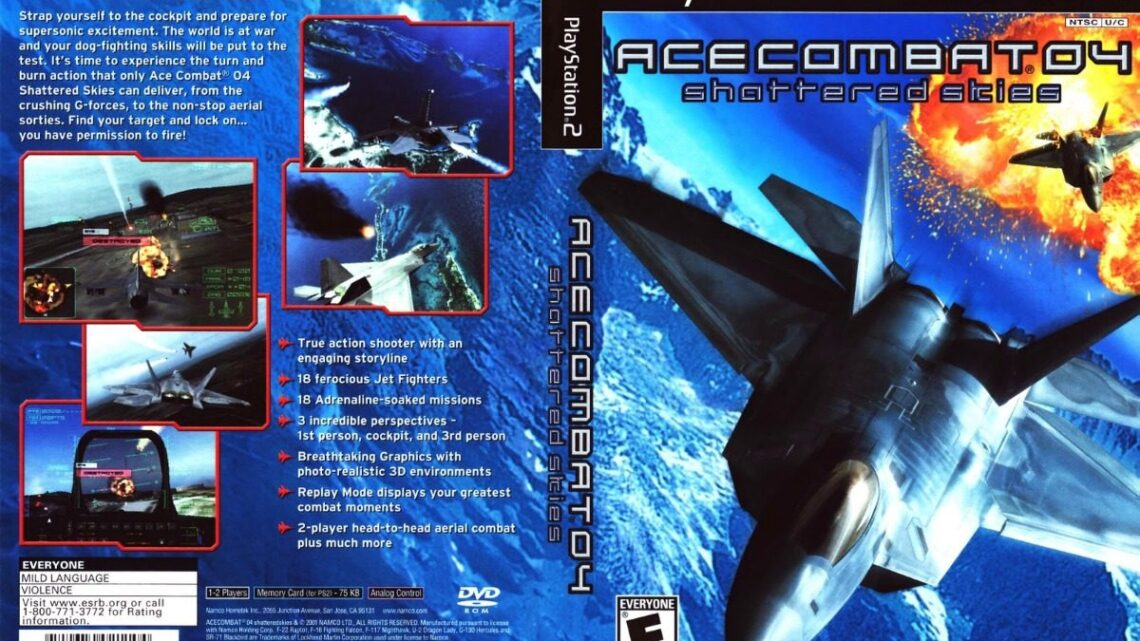 Ace Combat 04: Shattered Skies Playstation 2