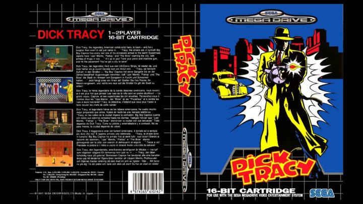 Dick Tracy – Sega Mega Drive
