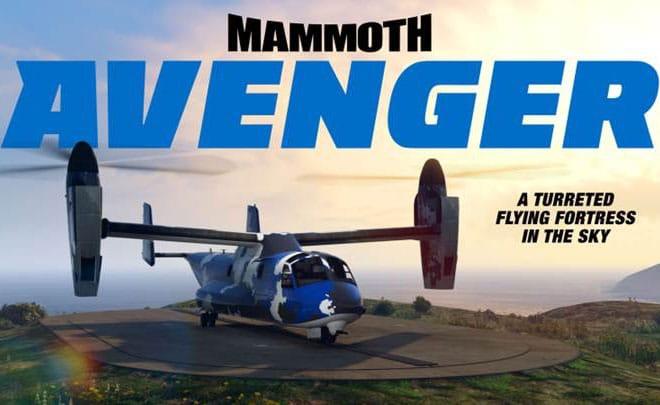 GTAOnline: 60% de desconto no Mammoth Avenger da Warstock Cache & Carry
