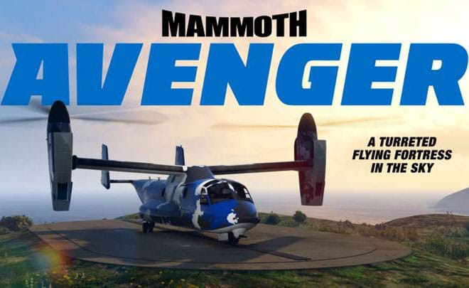 GTAOnline: Mammoth Avenger da Warstock Cache & Carry