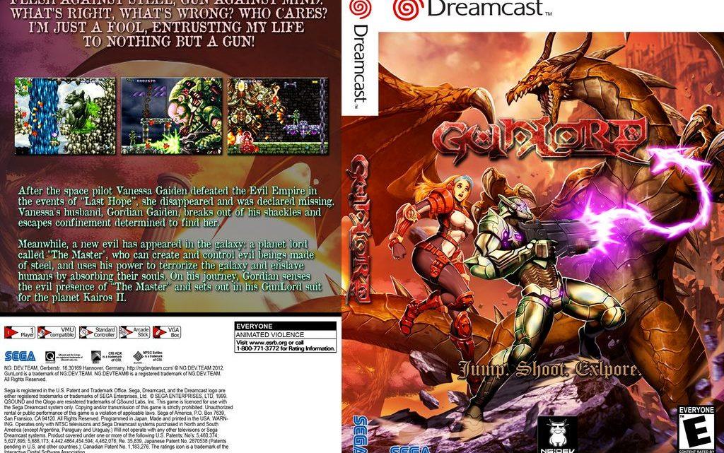 Gunlord-  Sega Dreamcast