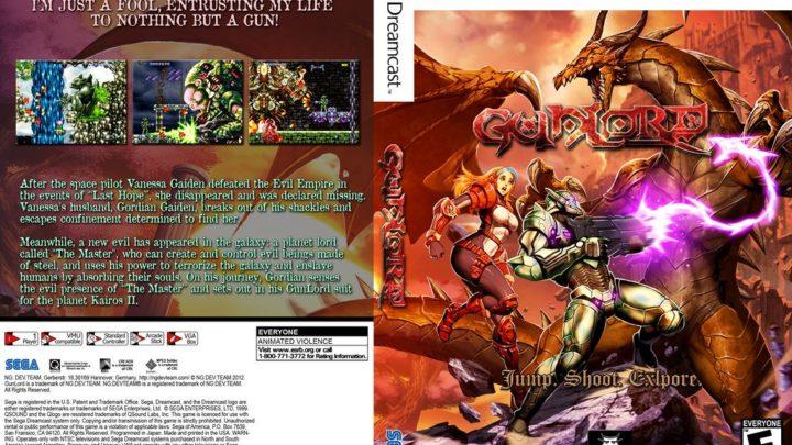 Gunlord Sega Dreamcast