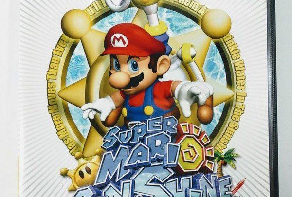 Super Mario Sunshine Nintendo GameCube!