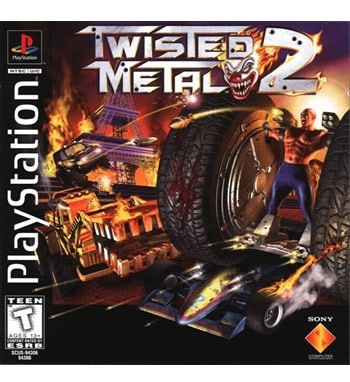 Twisted Metal 2 PC-PS1/Wiki, Analise, ISO e Cheats
