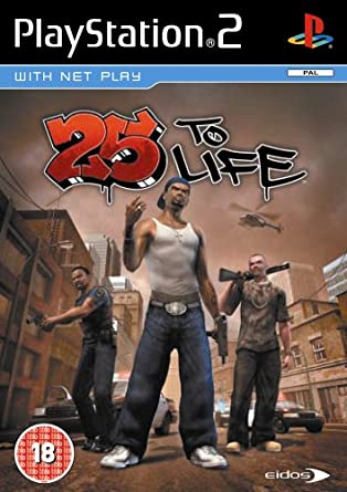 25 to Life Playstation 2 (Video Game)