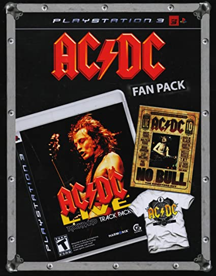 AC/DCLive: Rock Band Track Pack Playstation 2