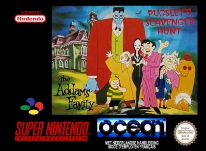 The Addams Family:Pugsley Scavenger Hunter SNES