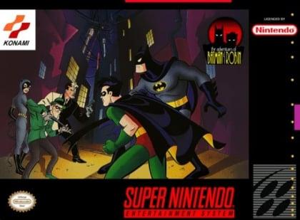 Adventures of Batman & Robin SNES (Video Game)