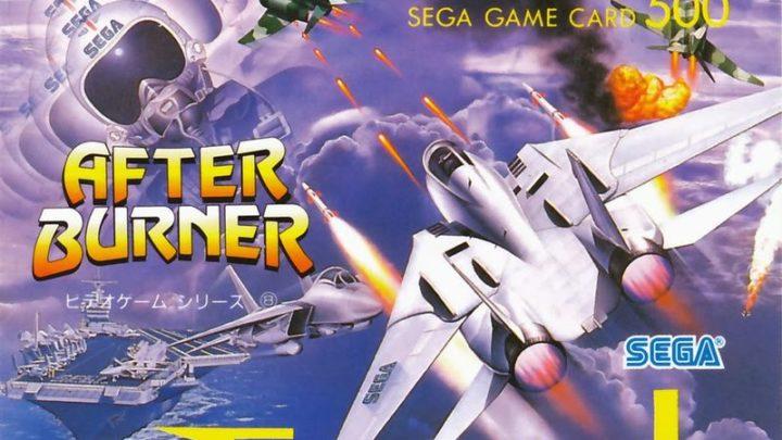 After Burner Sega Saturno