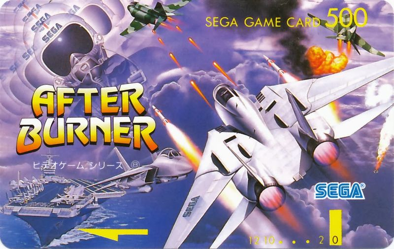 After Burner Sega Saturno