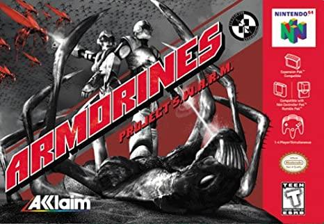 Armorines: Projeto SWARM N64-ROM