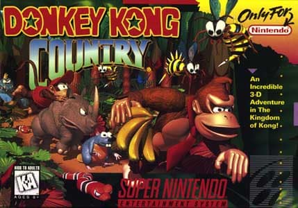 Donkey Kong Country SNES-ROM Download, WikiPedia & Dicas!