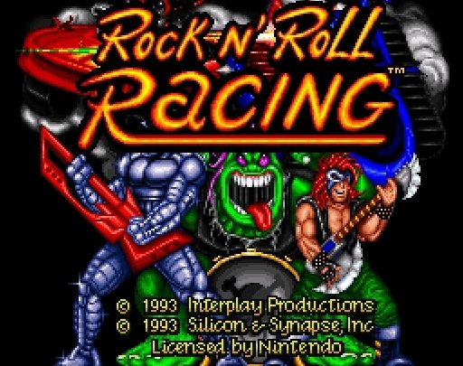Rock and Roll Racing Super Nintendo