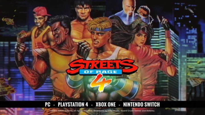 Clássicos da SEGA: Streets of Rage 4 está de volta!