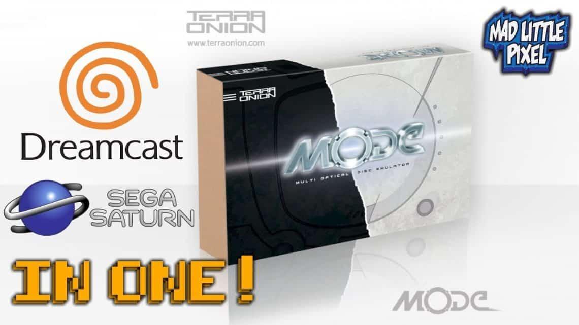 """Terraunion anuncia""""MODE""""; Console Emulador de Saturno e Dreamcast"""
