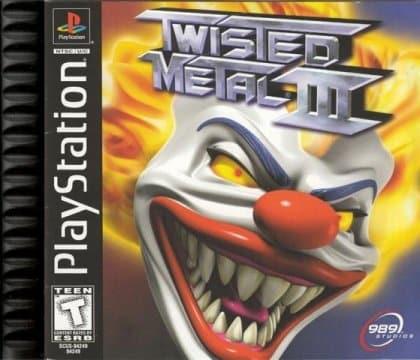 Twisted Metal III PS1-Baixar ROM, Wiki, Cheats