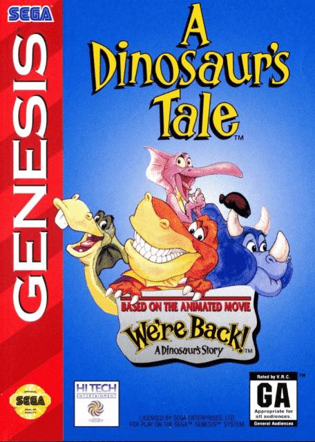A Dinosaur's Tale MegaDrive-ROM Download+Wiki