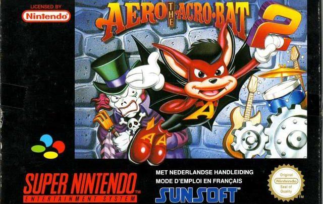 Aero The Acro-Bat 2 Super Nintendo