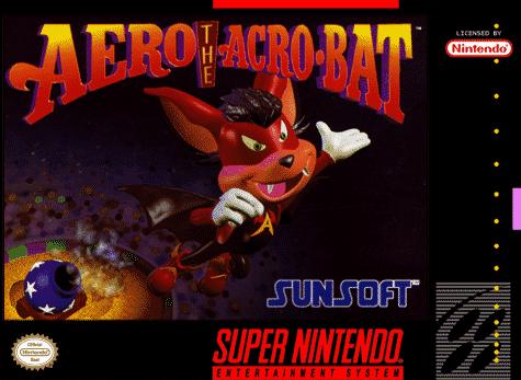 Aero the Acro-bat Super Nintendo