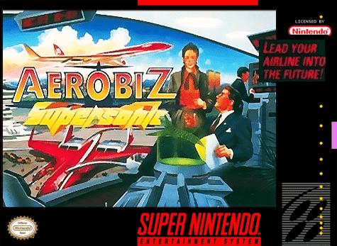 Aerobiz SuperSonic SNES
